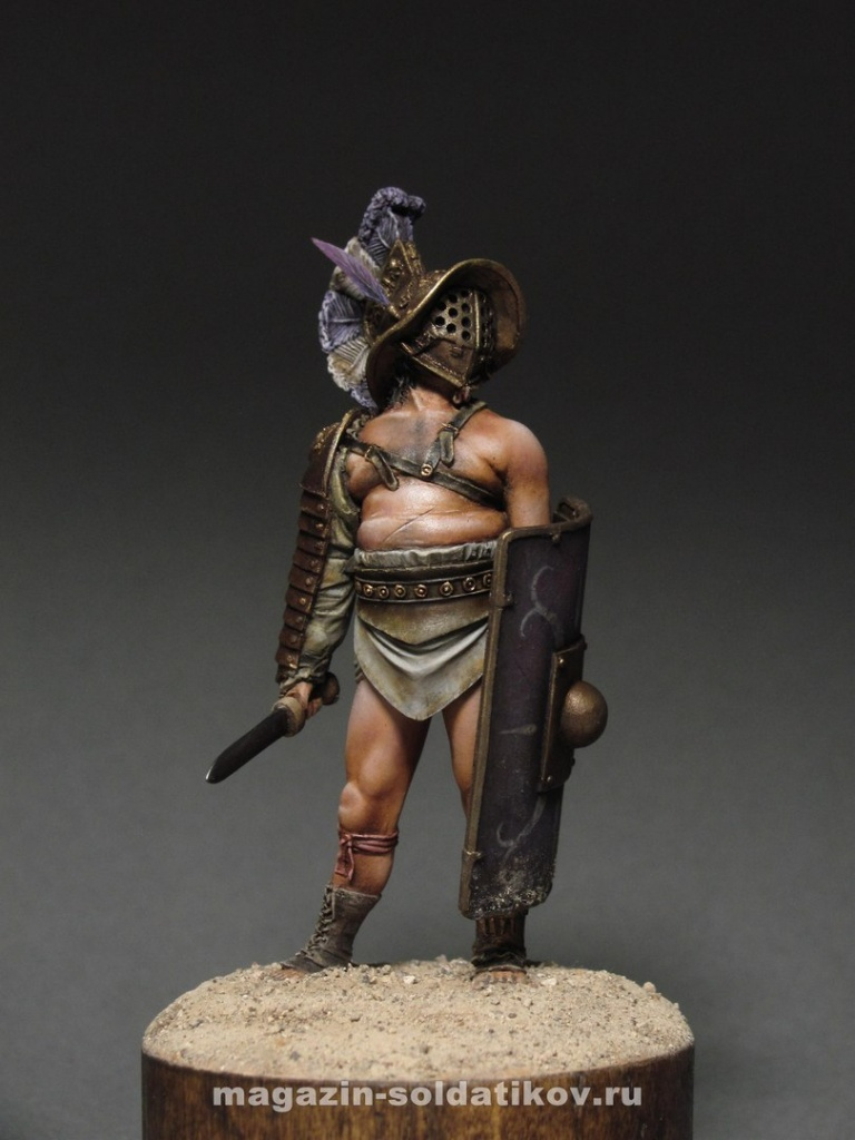 Roman Gladiator Murmillo, 54 mm. Mercury Models