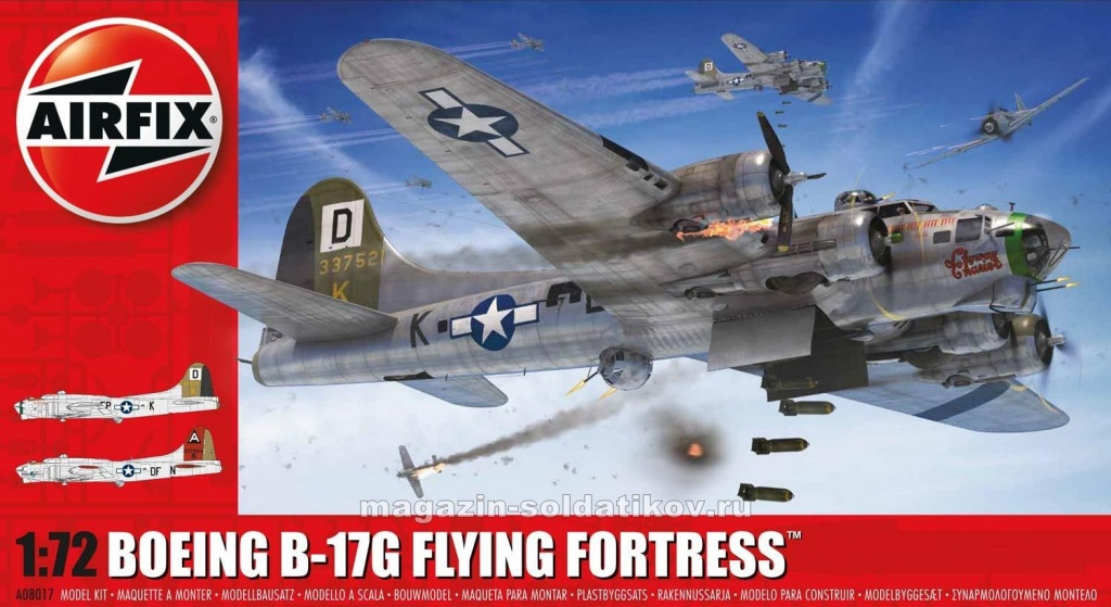 А Boeing B-17G Flying Fortress (1/72) Airfix