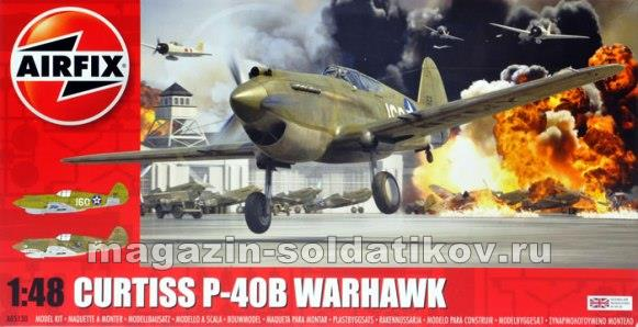А Самолет Curtiss P40B(1:48) Airfix