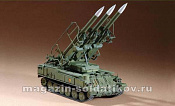 07109  Russian SAM -6 antiaircraft missile 1:72 Трумпетер