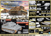 6624 Д Танк Tiger I MID s.PzAbt,506 (1/35) Dragon