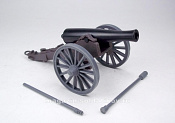 CTS776A  12lb cannon BROWN, 1:32 ClassicToySoldiers