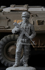 35-129 Soldier ofassault engineering-sapper battalion, Russia 2016 (1:35) Ant-miniatures