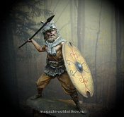 "MM-7527 ""Gray Wolf"", ancient germanic warrior 75 mm. Mercury Models"