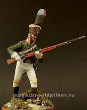 CHM-54095(M) Русский унтер-офицер, 1805 г,  54 мм, Chronos miniatures