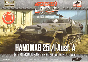 040 Hanomag 251/1 Ausf A Halftrack 1:72, First to Fight