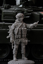 35-141 Russian modern officer (1:35) Ant-miniatures