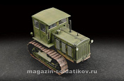 07111 Тягач Russian ChTZ S-65 Tractor with Cab 1:72 Трумпетер