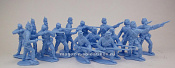 TMP101B  Union 16 figures in 4 poses (light blue) 1:32, Timpo