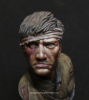 TC005 Bust of a Red Army soldier, Brest, 1941, 1:9, Soldiers of Fortune
