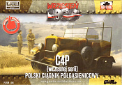 044 C4P Polish artillery tractor, early production 1:72, First to Fight