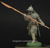 MM-7532 Medieval infantryman 13 c, 75 mm. Mercury Models