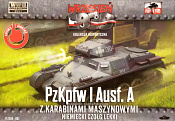 002 Pz. Kpfw. IA + журнал, 1:72, First to Fight