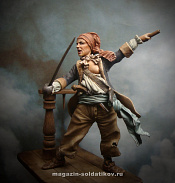 MM-7519 Mary Read (female pirate), 75 mm. Mercury Models