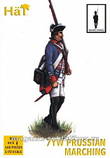 8280 7YW Prussian Infantry Marchng (1:72) Hat
