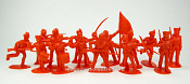 TMP104A British Infantry 12 figures in 8 poses (red) 1:32, Timpo