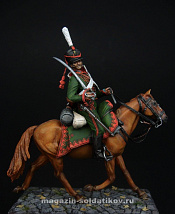 CHM-54100 Русский гусар, 1812 г. 54 мм, Chronos miniatures