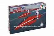 2747 ИТ Самолет Hawk T1A ''Red Arrows 50 display seasons'' (1/48) Italeri