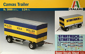 3880 ИТ Canvas Trailer (1/24) Italeri