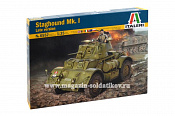 6552 ИТ Бронеавтомобиль STAGHOUND MK. I late version (1/72) Italeri