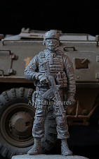 35-133 Officer of  FSB Spetsnaz, Russia (1:35) Ant-miniatures