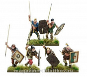 103012002 Germanic Skirmishers with javelins, Warlord