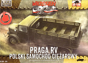 034 Praga RV Troop Transporter in Polish Service 1:72, First to Fight