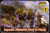 М128 Imperial Japanese Army in Attack (1/72) Strelets