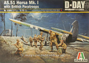 1356 ИТ Самолет AS.51 Horsa Mk.I/II & British Paratr. (1/72) Italeri