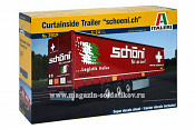 3918 ИТ Прицеп  CURTAINSIDE TRAILER   (1/24) Italeri