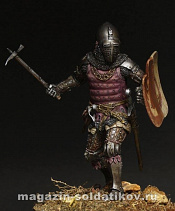 MM-7505 Medieval knight 14 ct, 75 mm. Mercury Models