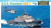 7095 Д Корабль U.S.S. Freedom LCS-1 (1/700) Dragon