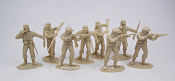 TMP111B Legionnaires 8 figures in 4 poses (tan) 1:32, Timpo