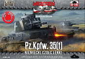 038 German PzKpfw 35(t) Light Tank 1:72, First to Fight